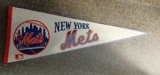 1969 NEW YORK METS THE AMAZIN' METS FULL SIZE PENNANT W/HARD PLASTIC VINTAGE
