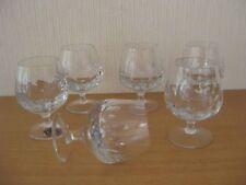6  edle SPIEGELAU Cognacgläser - Kristallglas - geschliffen -aus den 70er Jahren