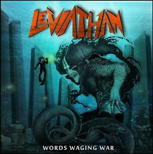 LEVIATHAN - Words Waging War (NEW*PRIVATE PR.*US PROG METAL*F. WARNING*P. WALTZ)