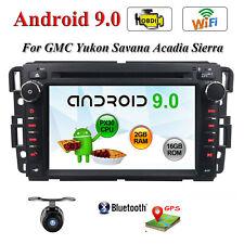 For GMC Yukon Chevy Silverado Sierra GPS Car dvd player Radio Stereo Android 9.0