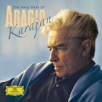 HERBERT VON/BP KARAJAN - BEST OF ADAGIO,THE VERY 2 CD NEU