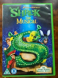 Shrek the Musical DVD 2013 West End Broadway Show based on the DreamWorks Movie