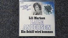 Lale Andersen - Lili Marleen/ Ein Schiff wird kommen 7'' Single