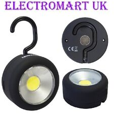 24 LED ULTRA BRIGHT ROUND MAGNETIC WORK LIGHT TORCH HANGING HOOK