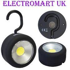 24 LED Ultra Luminose ROUND Magnetico Lavoro Torcia frontale appeso gancio