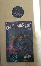 LBCC EXCLUSIVE THE ONLY LIVING BOY + STICKER YA YOUNG ADULT ELLIS FREE SHIP HTF