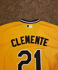 Pittsburgh pirates Roberto Clemente #21 throwback Sunday alternative Jersey 2XL