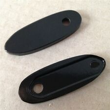 Motorcycle Black Mirror Block Off Base For Honda Kawasaki Yamaha Suzuki