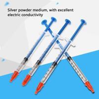 0.3/0.5/0.7mL Conductive Silver Paste Adhesive Paint Pen Keyboard PCB Repair GB
