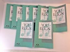 You Reign Contemporary Christian Choral Music Octavo Condon Integrity SATB Lot 8