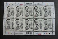 Singapore National Service NS50 Lee Kuan Yew LKY 1st Local Stamp Sheet 2017