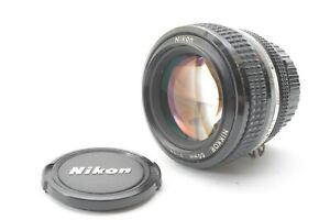 Nikon Nikkor 50mm F/1.2 AI Prime Lens - With Front and Rear Lens Caps