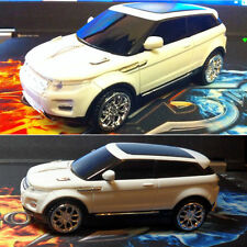 2.4GHz Land Rover Range Evoque 3D Car Shape Usb Optical Wireless Gaming Mouse UK