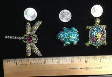 Heidi Daus - 3 Pins  Turtle - Frog - DragonFly -  VOL #1 (C519)