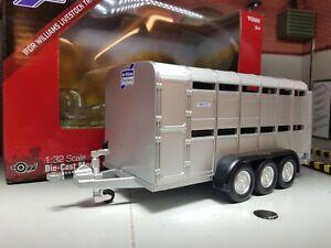 Ifor Williams 1:32 Scale 40710A1 TA510 Triaxle Livestock Britains Model Trailer
