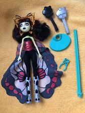 Monster high Puppe Luna Mothews Boo York mit Ständer