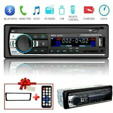 1 DIN Car Stereo Radio Bluetooth FM In Dash Handsfree SD/USB AUX 12V Head Unit