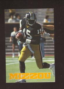 Missouri Tigers--1988 Football Pocket Schedule--Busch Beer