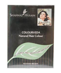 Shahnaz hussain ColourVeda Henna Blackish Brown hair Color
