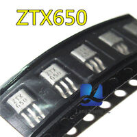 5pcs  ZETEX ZTX650 TO-92 NPN SILICON PLANAR MEDIUM POWER