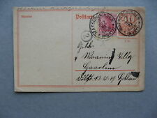 GERMANY INFLATION, uprated prestamped PC(card) to Holland 07-12-1921, total 0,80