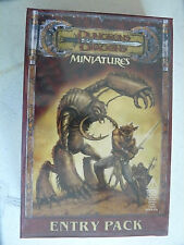 Dungeon and Dragon miniatures Harbinger Entry Starter (unopened) Pathfinder comp