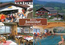Alte Postkarte - Pension Sonnenhof - Zwiesel/Bayer. Wald