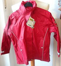 Jeantex niños reitjacke, lluvia chaqueta, modelo Peggy, rojo, talla 140, chaqueta