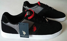 U.S.Polo Assn 1890 Shoes Men's Black Red 42 ( UK 7,5/USA 8,5) New u. S.P.A