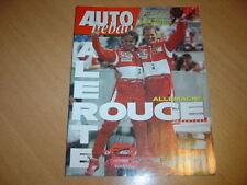 Auto hebdo N°1557 Gp d'Allemagne.Ferrari P4/5.24 H Spa