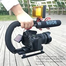 Video Stabilizer Camera Dslr Handle Grip Rig Set iPhone 7 Plus Canon Camcorder