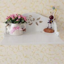 Wooden Wall Shelves Phone WIFI Rose Hook Storage Shelf Home Display Shelving