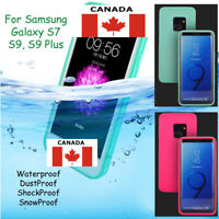 Waterproof Shockproof Rubber Hybrid TPU Case Cover For Samsung Galaxy S7 S9 S9+