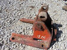 Allis Chalmers WD tractor AC snap coupler holder bracket to tractor spring load