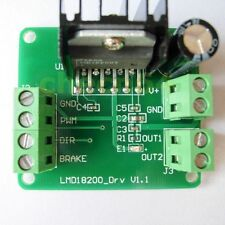 LMD18200 12-48v DC Motor Driver Module PWM Adjustable Speed For Arduino Robot