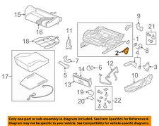 AUDI OEM 06-13 A3 Front Seat-Height Adjuster Left 1K0881053A