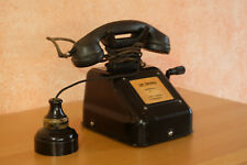 altes Nebenstellentelefon Kurbel Telefon Schweizer Militär Bahn Geissberg Aargau