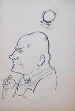 Lithography original - George Grosz - Ecce Homo - Grimmiger Mann - 1923