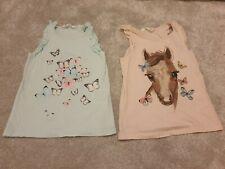 H&M 4-6 Years Girls Vest Tops