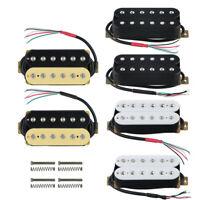 FLEOR Electric Guitar Humbucker Pickup Set Neck or Bridge Pickup Ceramic Magnet