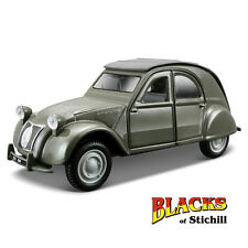 Bburago 1:32 Scale Street Classics 1952 CITROEN 2CV Vert Diecast Voiture Modèle