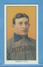 HONUS WAGNER ~ 1909 T-206 T206 Tobacco Baseball Card Reprint ~ Mint!