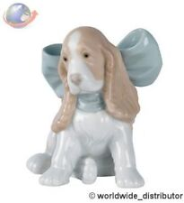 SALE Nao By Lladro Porcelain  PUPPY PRESENT 020.01349 Worldwide Ship