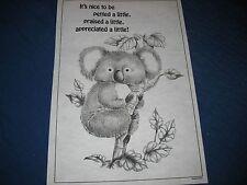 * Tri Chem 7470 Koala In A Tree Appreciated A Little Picture to paint Trichem