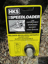 HKS Speed Loader 22K 22LR S&W 17 18 K Colt Diamondback Dan Wesson 6 Shot 22-K *