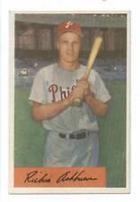 1954 Bowman Card Richie Ashburn Philadelphia Phillies EX Mint  #  15