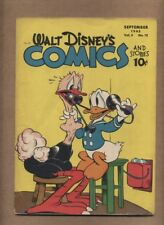Walt Disney's Comics and Stories 60 (G) Dell 1945 Carl Barks Donald (c#16522)