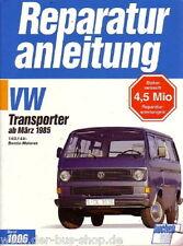 VW Bus T3 - Reparaturbuch Bucheli - 1,9 & 2,1 Benziner