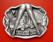 1992 Truckers Only The Dragon Collection Tanside  England Belt Buckle
