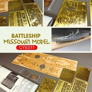 CYE011 Detail Up Set for Very Fire VF350909 1/350 USS Battleship Missouri Model